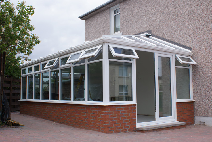 Contemporary Edwardian Conservatory