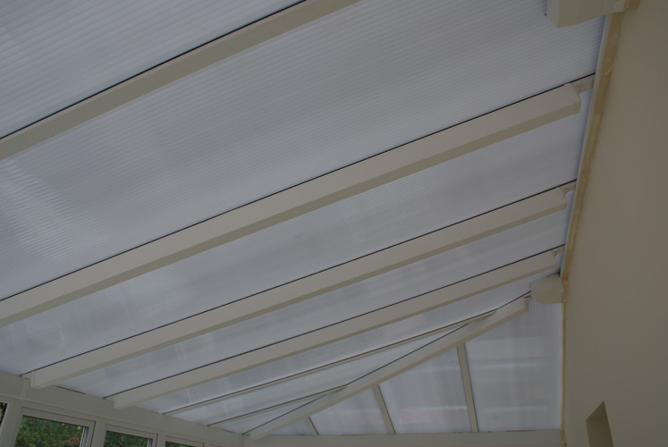 Contemporary Edwardian Conservatory - Roof View