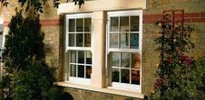 double glazed vertical slider windows