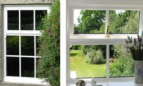 triple glazed top hung casement windows