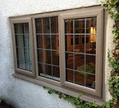 double glazed top hung casement windows