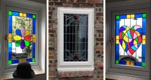 Double Glazed Old Stained Glass Windows For Energy Benefits